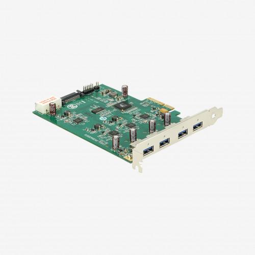 USB 3 PCI Express 카드, 4 포트 (89325)