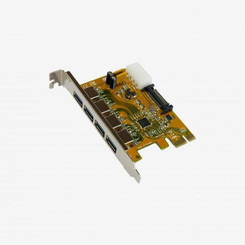 USB 3 PCI Express 카드, 4 포트 (EX-11094)
