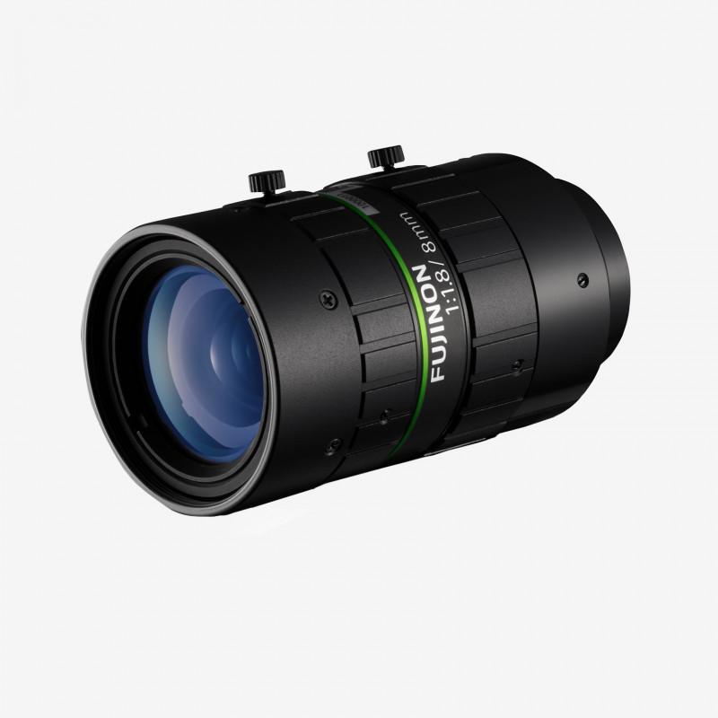 """렌즈, Fujifilm, HF818-12M, 8mm, 2/3"""""""